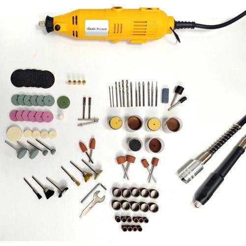 Balatlı Rolwal Mini Taşlama Gravür Seti 211 Parça BLT-RW-RWL-211