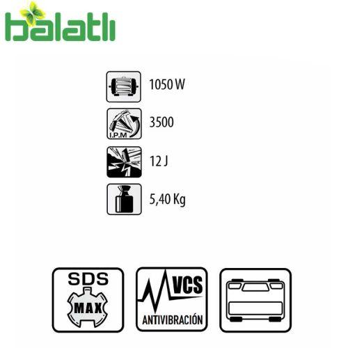 Felisatti Delgi Kırıcı Delici FS-HF12.5/1050