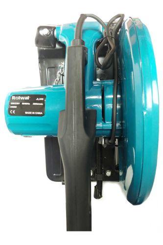 Rolwal Profesyonel 2400W Bakır Sargılı Metal Profil Kesme Makinesi 355mm