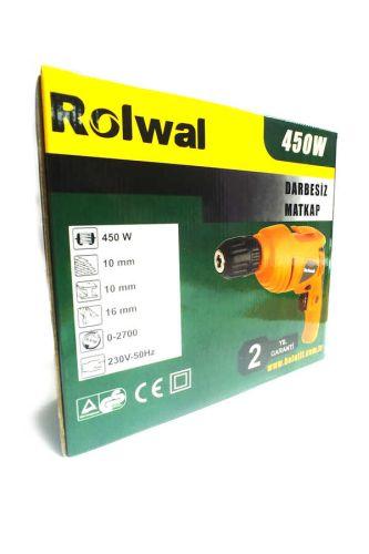 Rolwal Darbesiz Matkap 450W FP-EAL-VM450